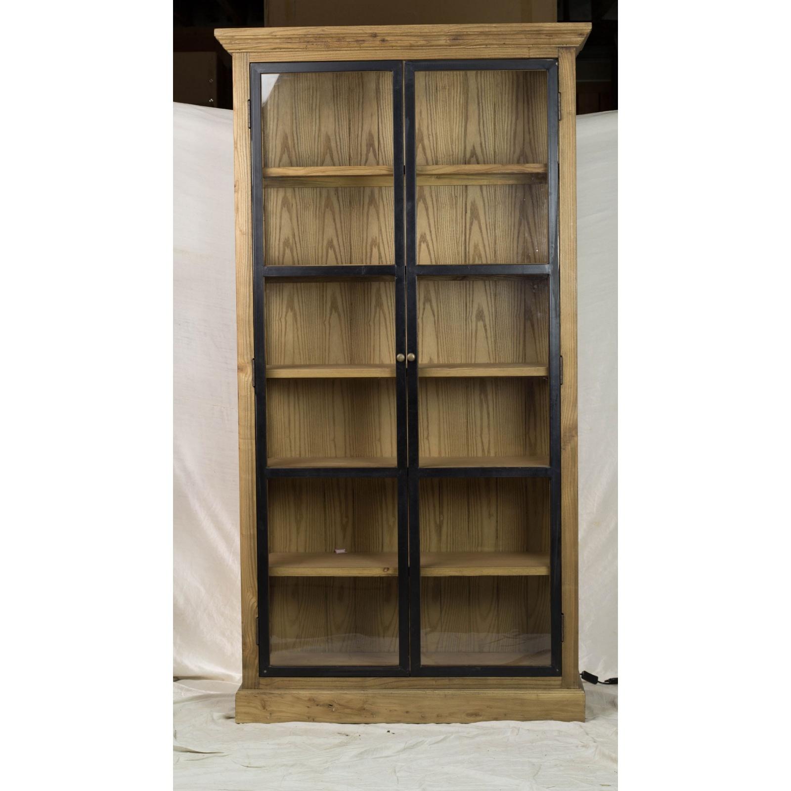 Armoire 2 portes industrielle jp2b d coration for Decoration porte armoire
