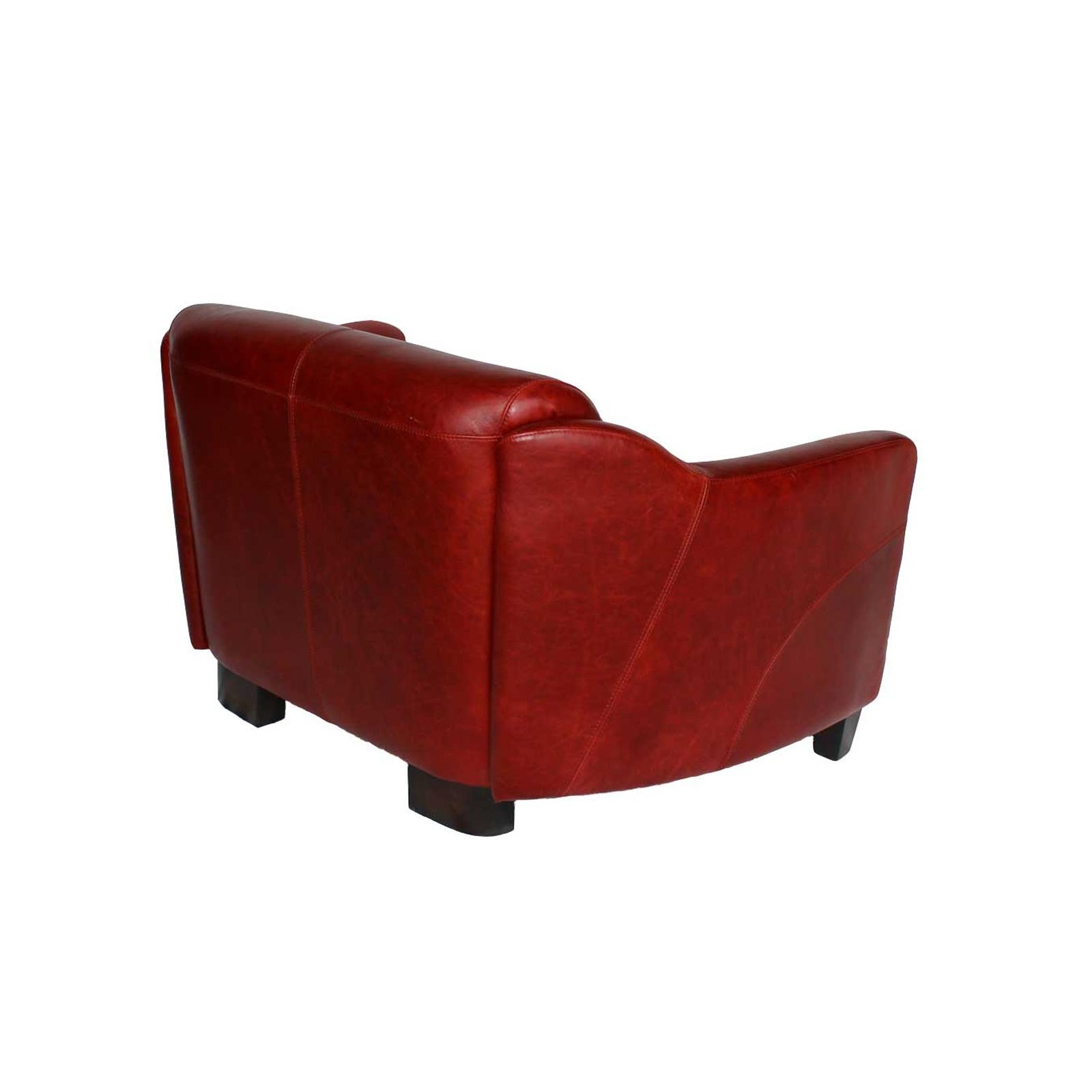 Le canap gentleman rouge jp2b d coration for Canape cuir rouge