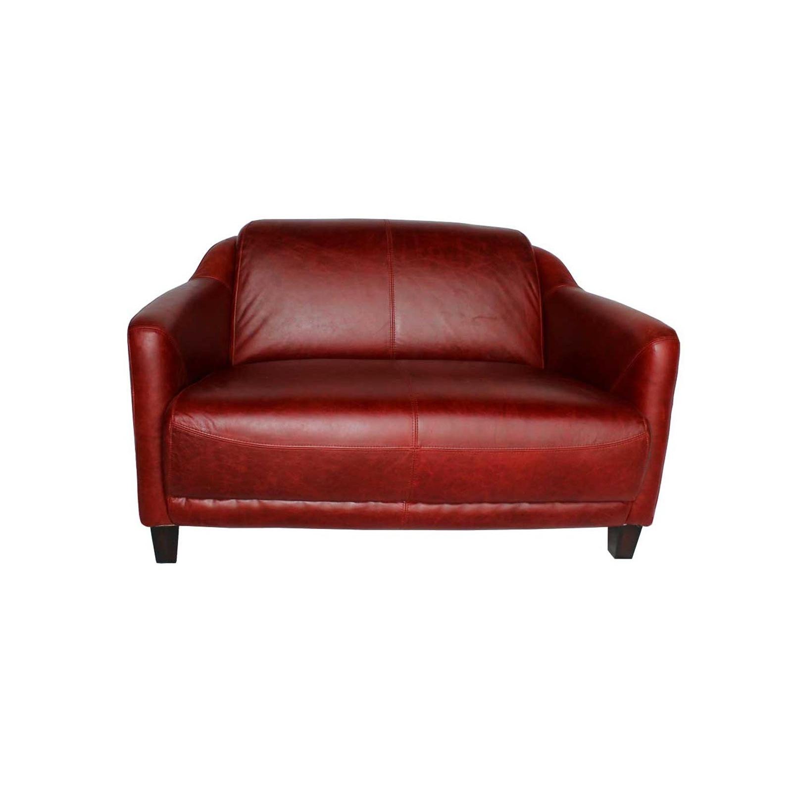 le canap gentleman rouge jp2b d coration. Black Bedroom Furniture Sets. Home Design Ideas