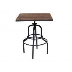 """Table de bar """" Carré 2P"""""""