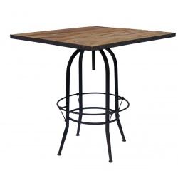 """Table de bar """" Carré 4P """""""