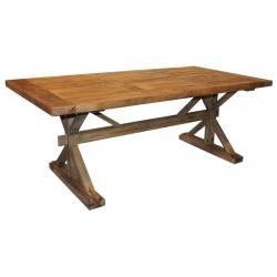 Table de repas rustique