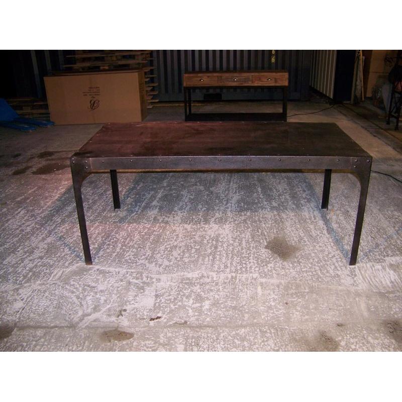 Best Table Repas Style Industriel Contemporary - Transformatorio ...