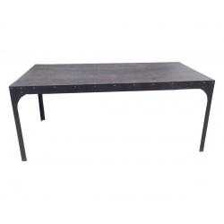 Table en fer style industriel
