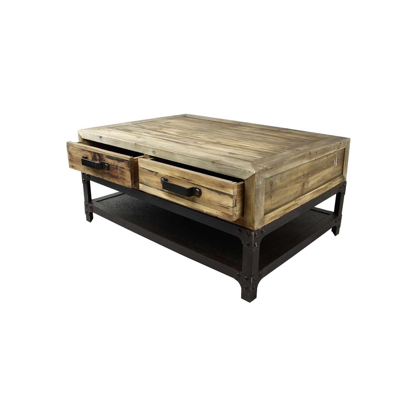 mini table basse indus jp2b d coration. Black Bedroom Furniture Sets. Home Design Ideas