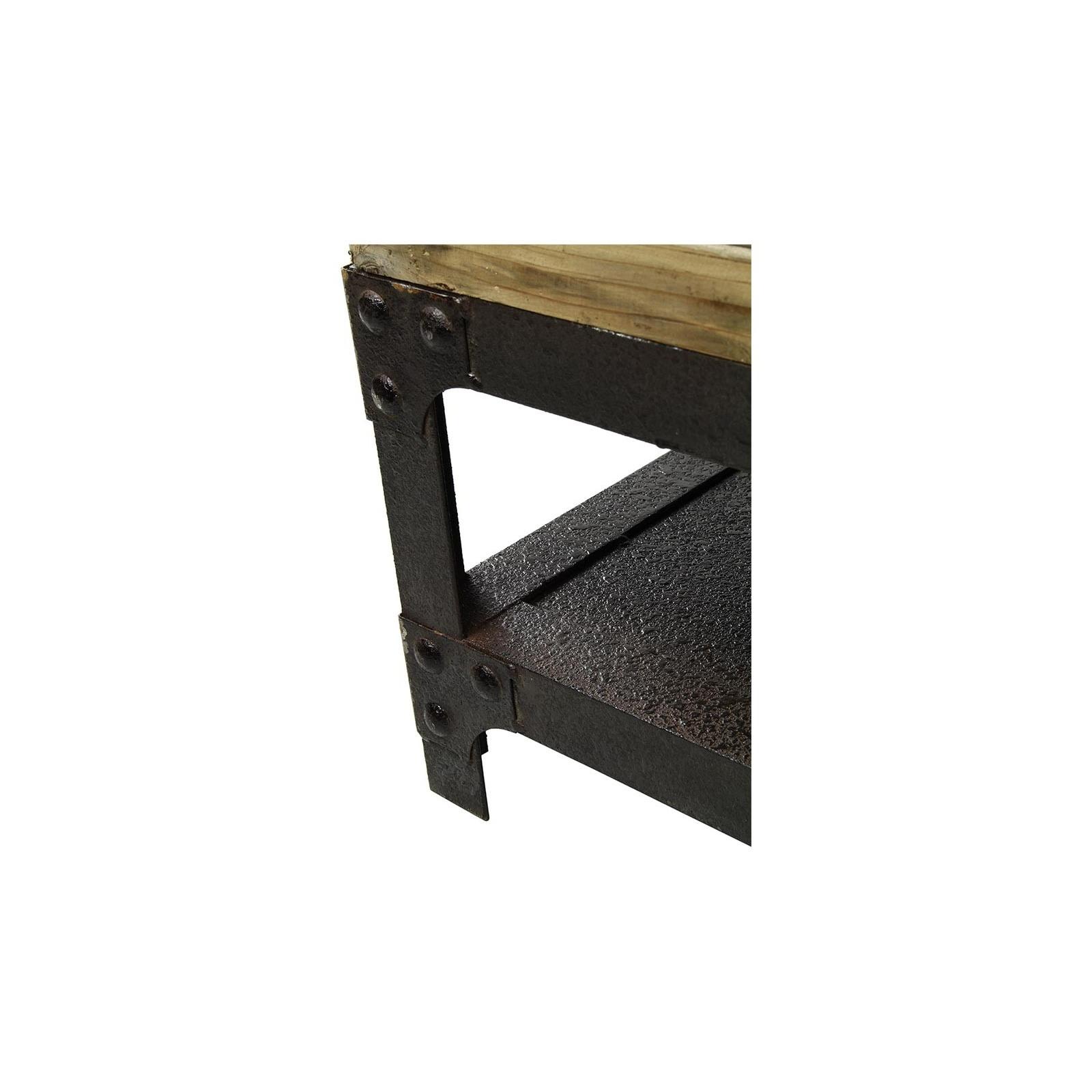 mini table basse indus. Black Bedroom Furniture Sets. Home Design Ideas