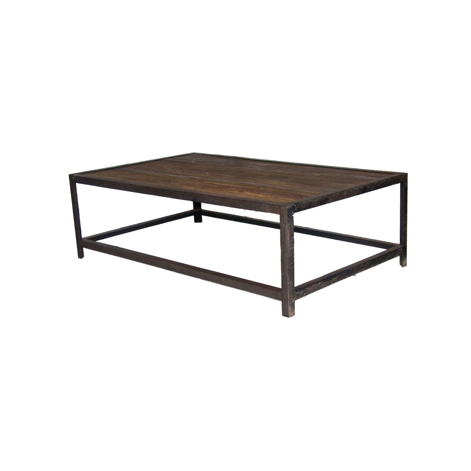 table basse industriel jp2b d coration. Black Bedroom Furniture Sets. Home Design Ideas