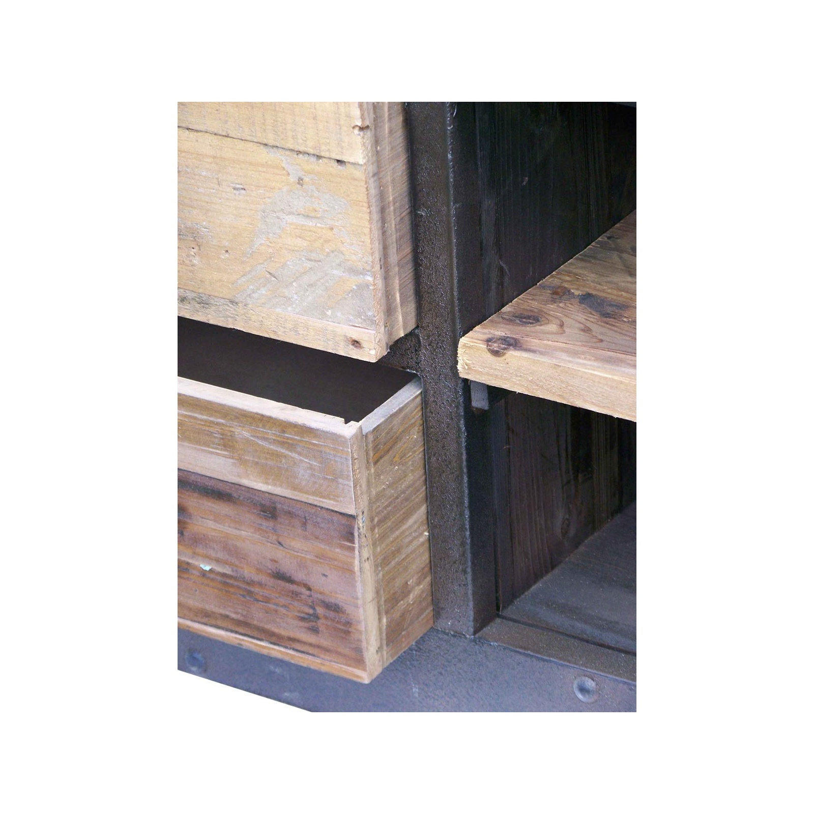 grande tag re industriel jp2b d coration. Black Bedroom Furniture Sets. Home Design Ideas
