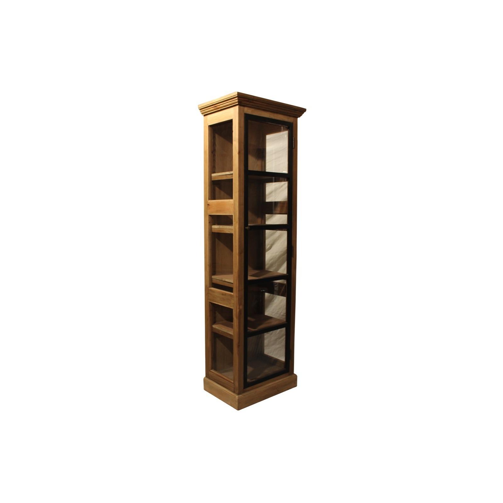 armoire une porte industrielle. Black Bedroom Furniture Sets. Home Design Ideas
