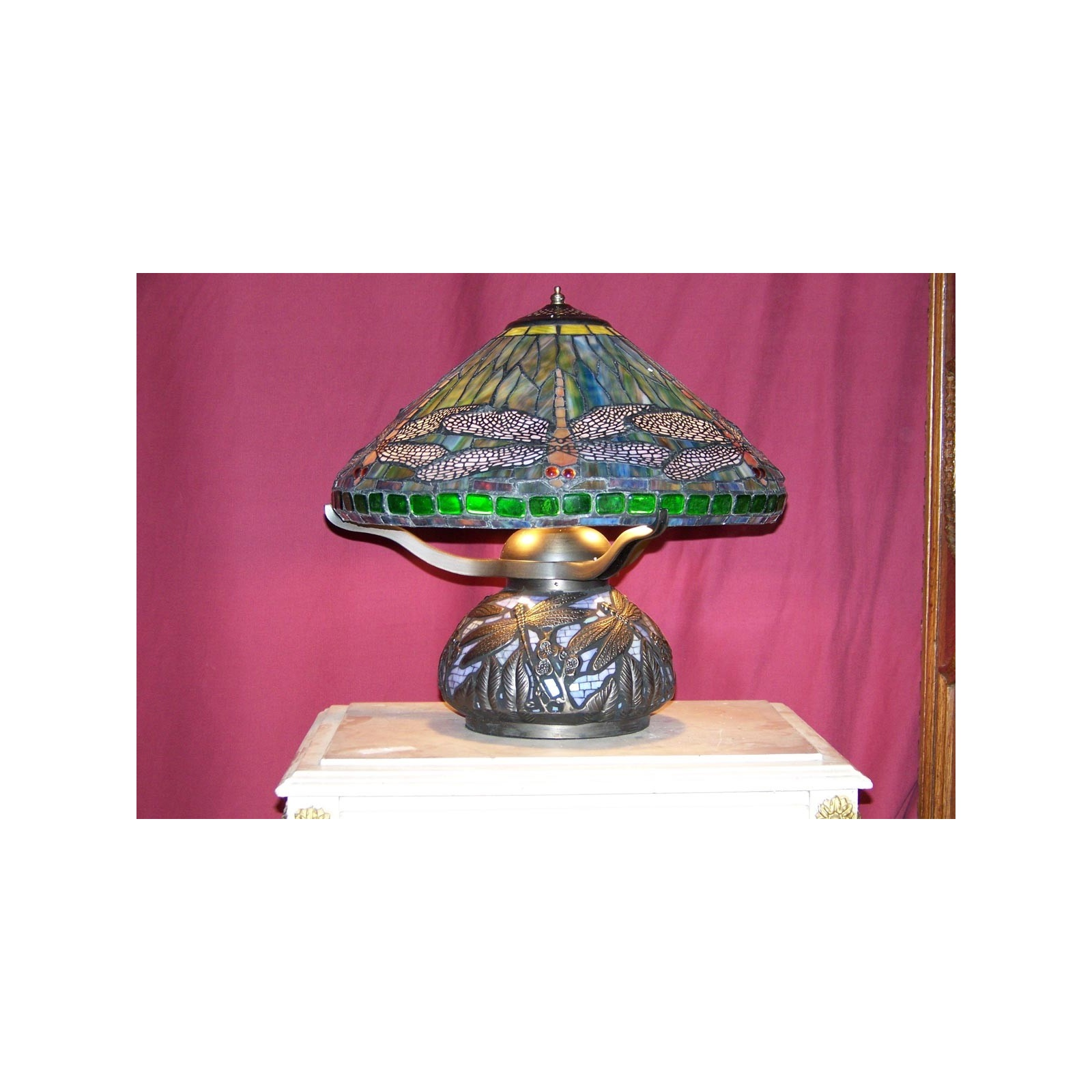 Lampe Style Tiffany Jp2b D 233 Coration