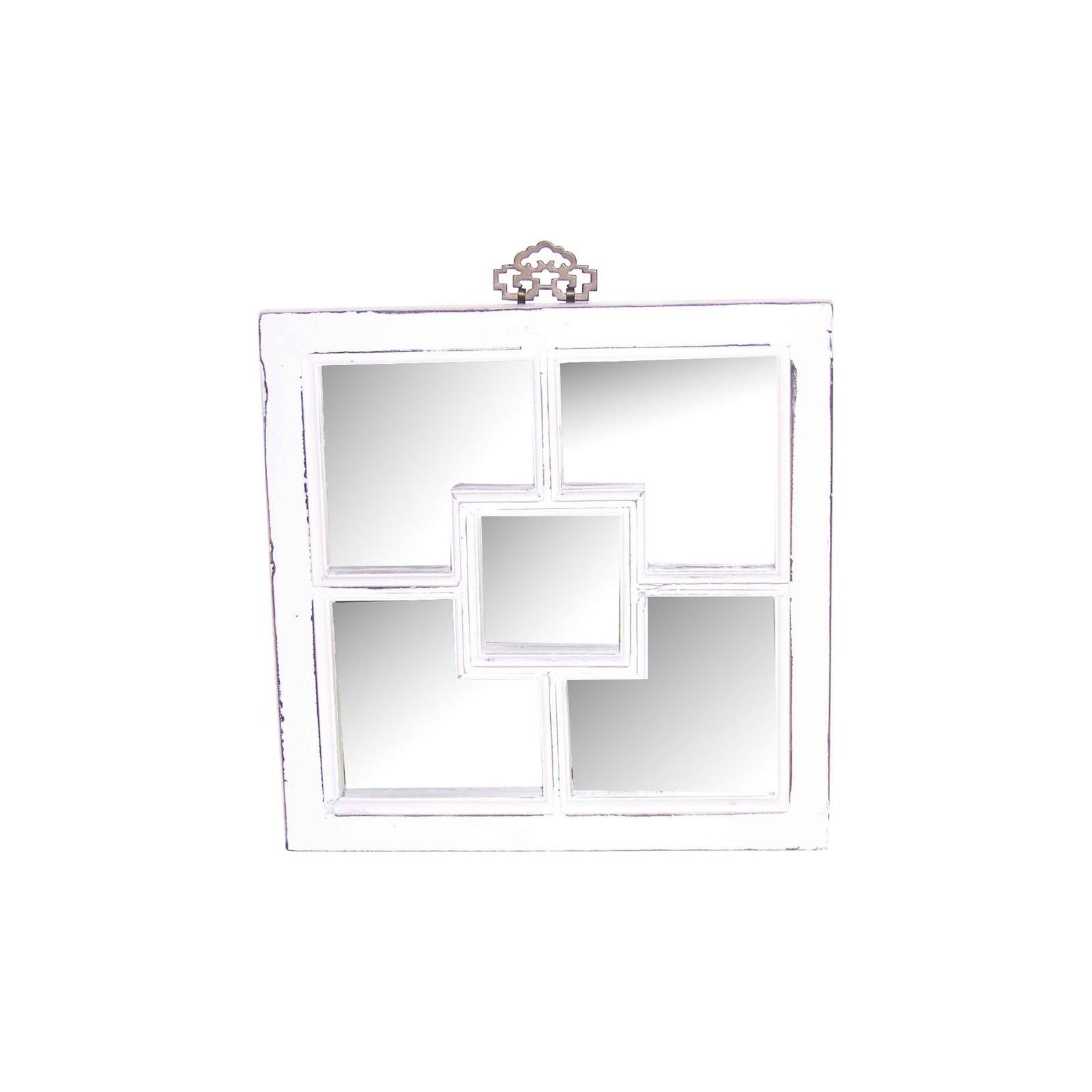 Miroir carr jp2b d coration for Miroir carre