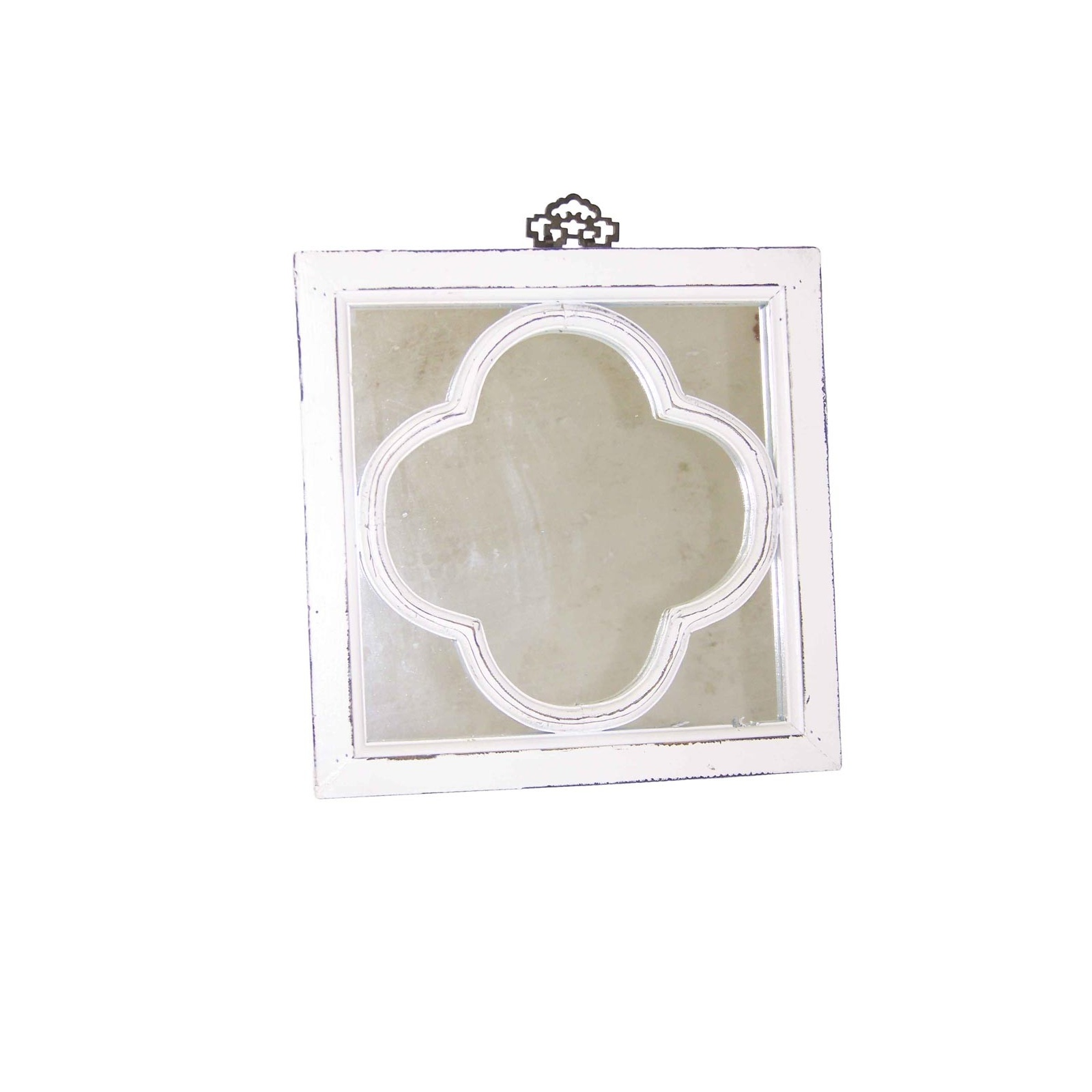 Miroir trefle