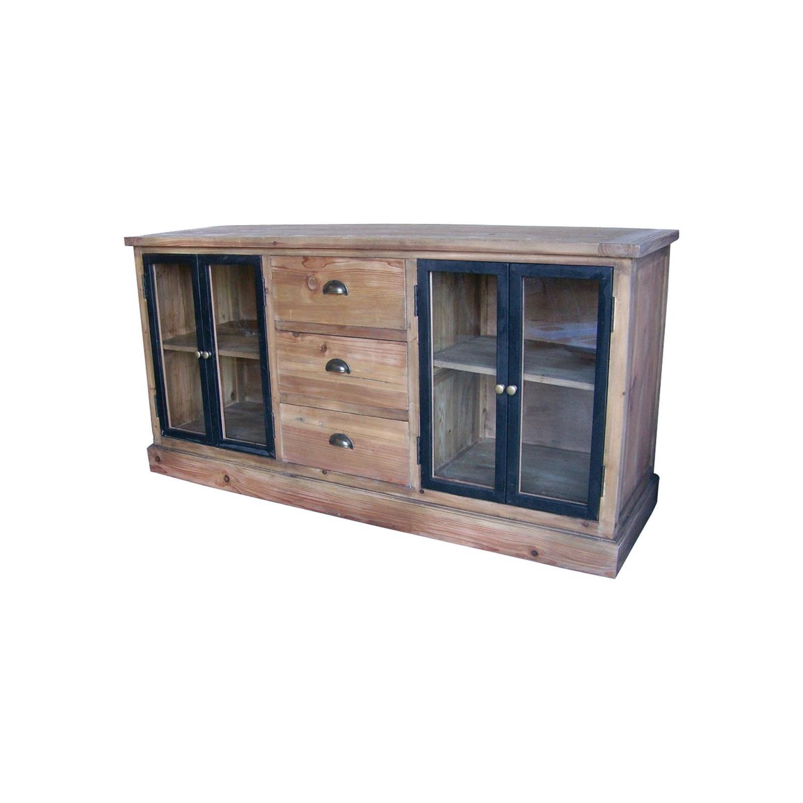 bas de buffet vitr jp2b d coration. Black Bedroom Furniture Sets. Home Design Ideas