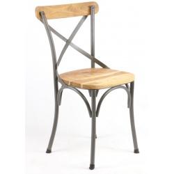 Chaise de Bistro Industrielle
