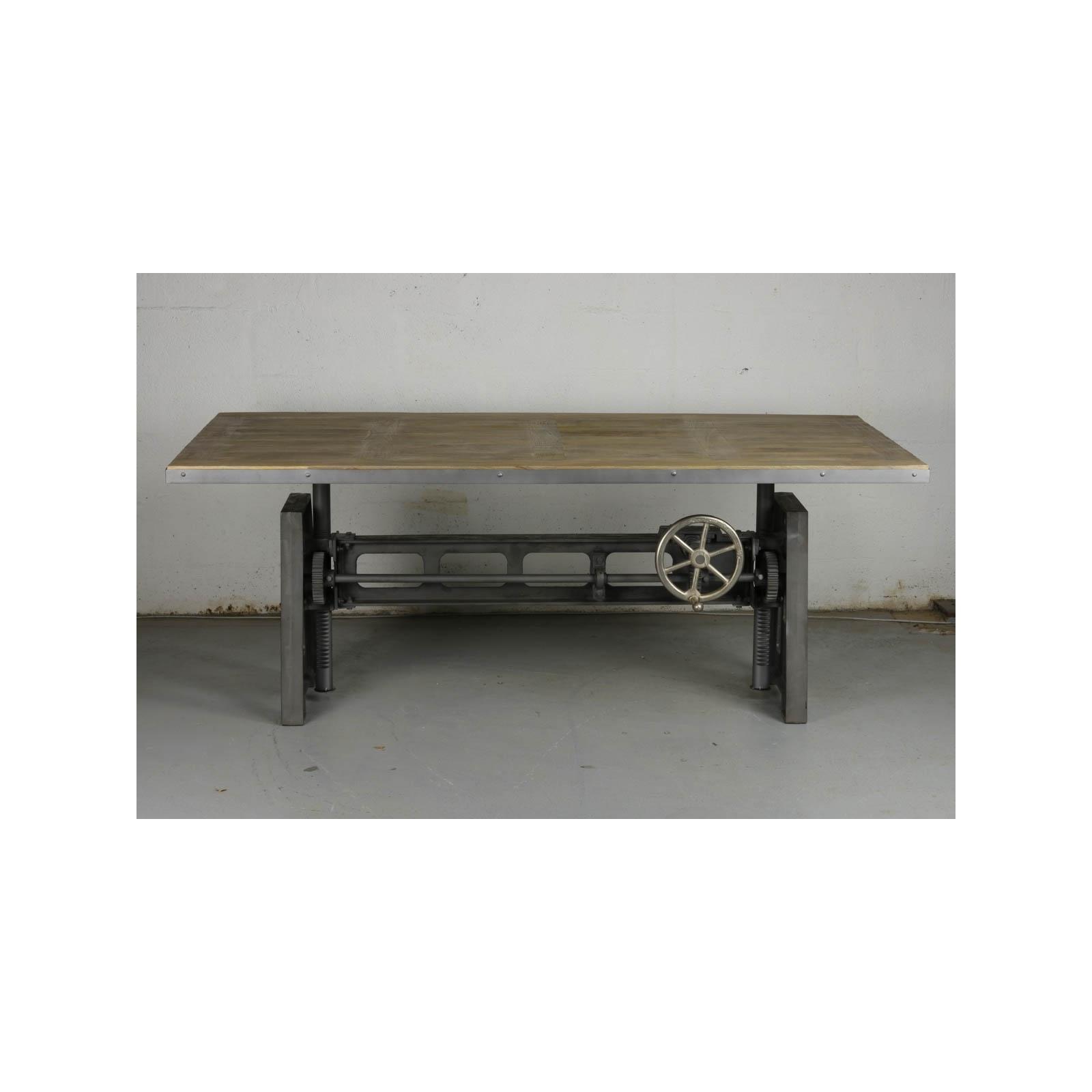 Table De Salle 224 Manger Industrielle
