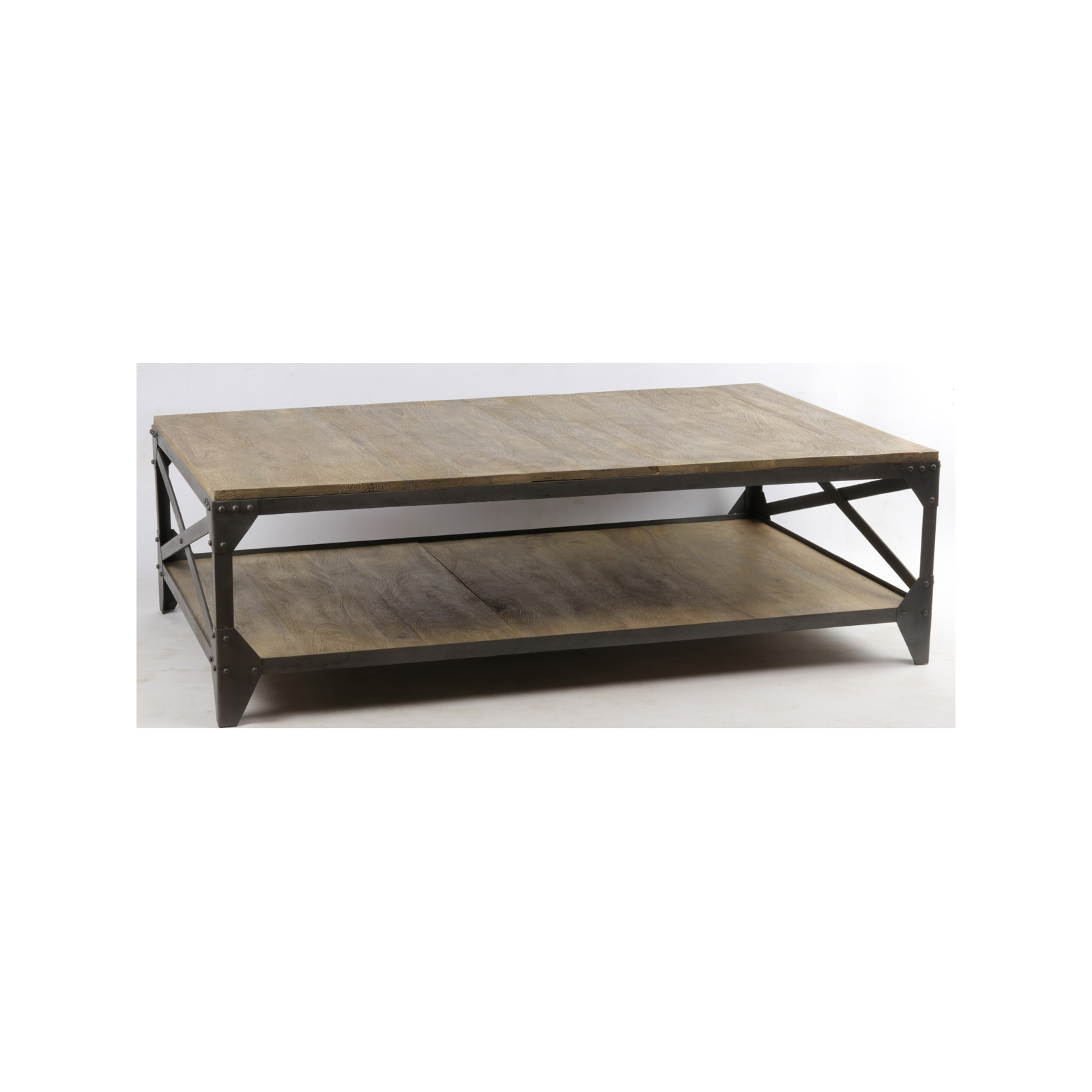 Table basse industrielle in29 for Table basse industrielle blanche
