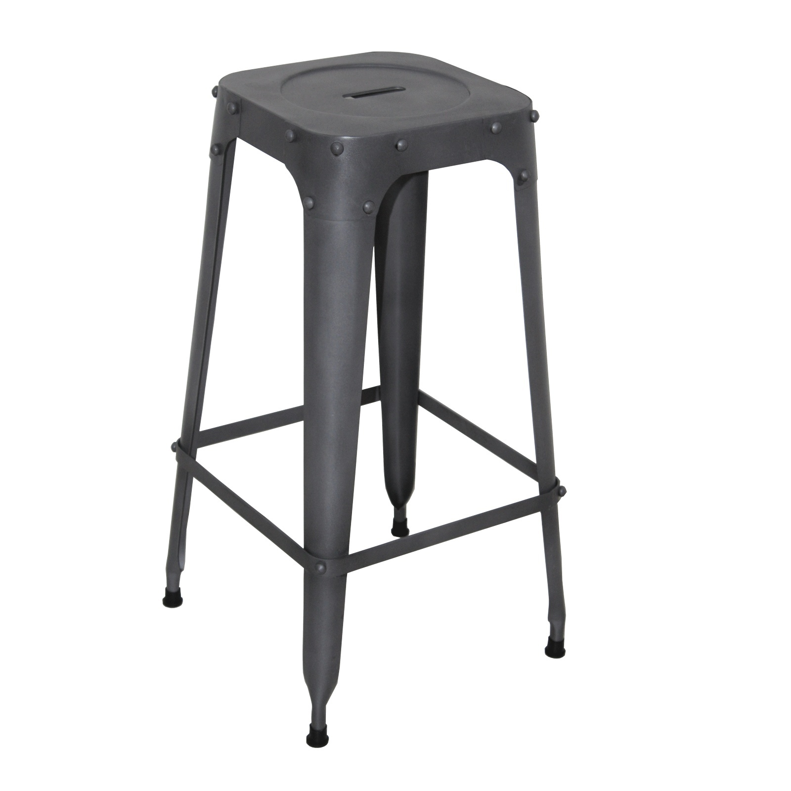 tabouret de bar industriel in48. Black Bedroom Furniture Sets. Home Design Ideas