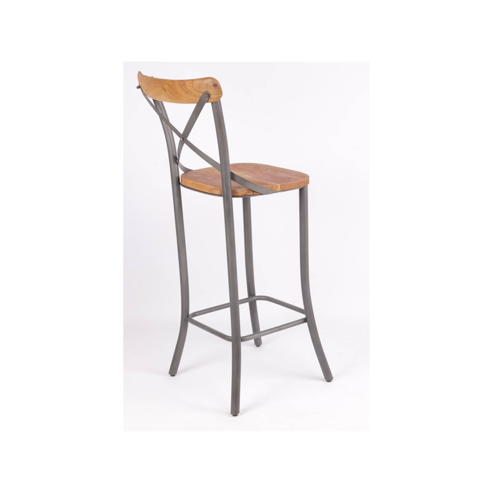 Chaise Haute Industrielle : chaise haute de bistrot industrielle in91 ~ Teatrodelosmanantiales.com Idées de Décoration