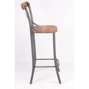 Chaise haute de Bistro Industrielle