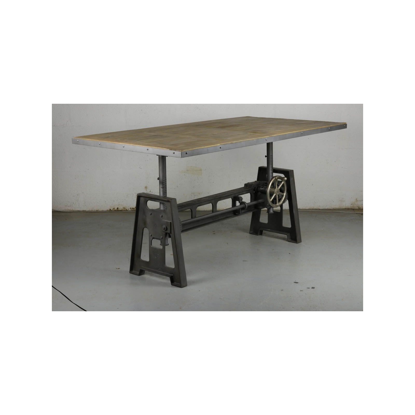 table industriel jp2b d coration. Black Bedroom Furniture Sets. Home Design Ideas