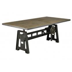 table de salle manger industrielle - Table De Salle A Manger Industriel2928