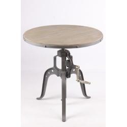 guridon industriel - Table De Salle A Manger Industriel2928
