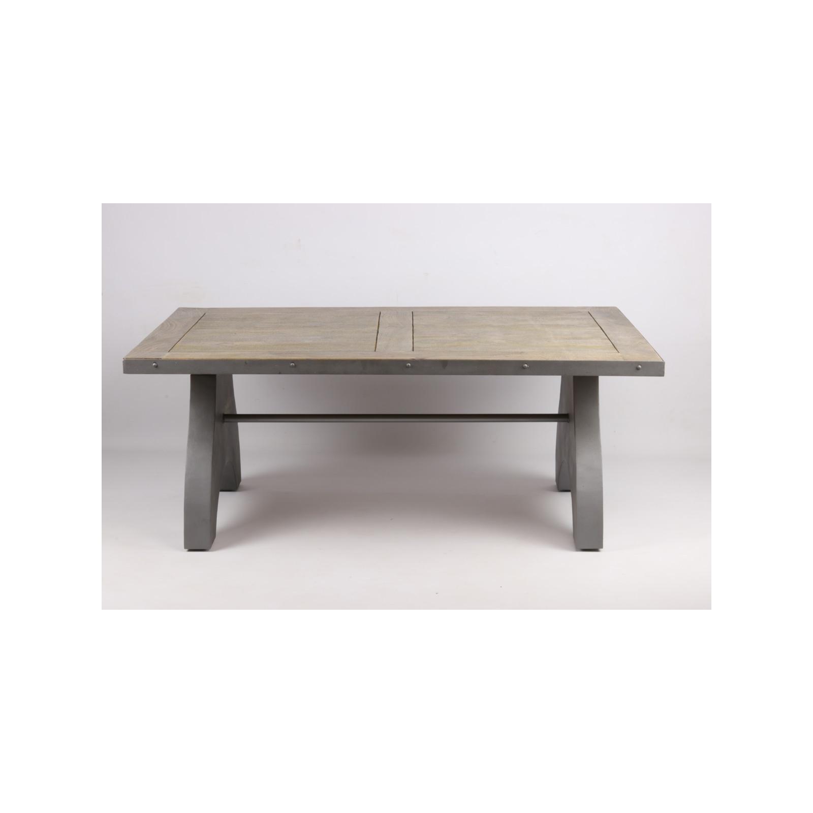 table basse industrielle in61. Black Bedroom Furniture Sets. Home Design Ideas