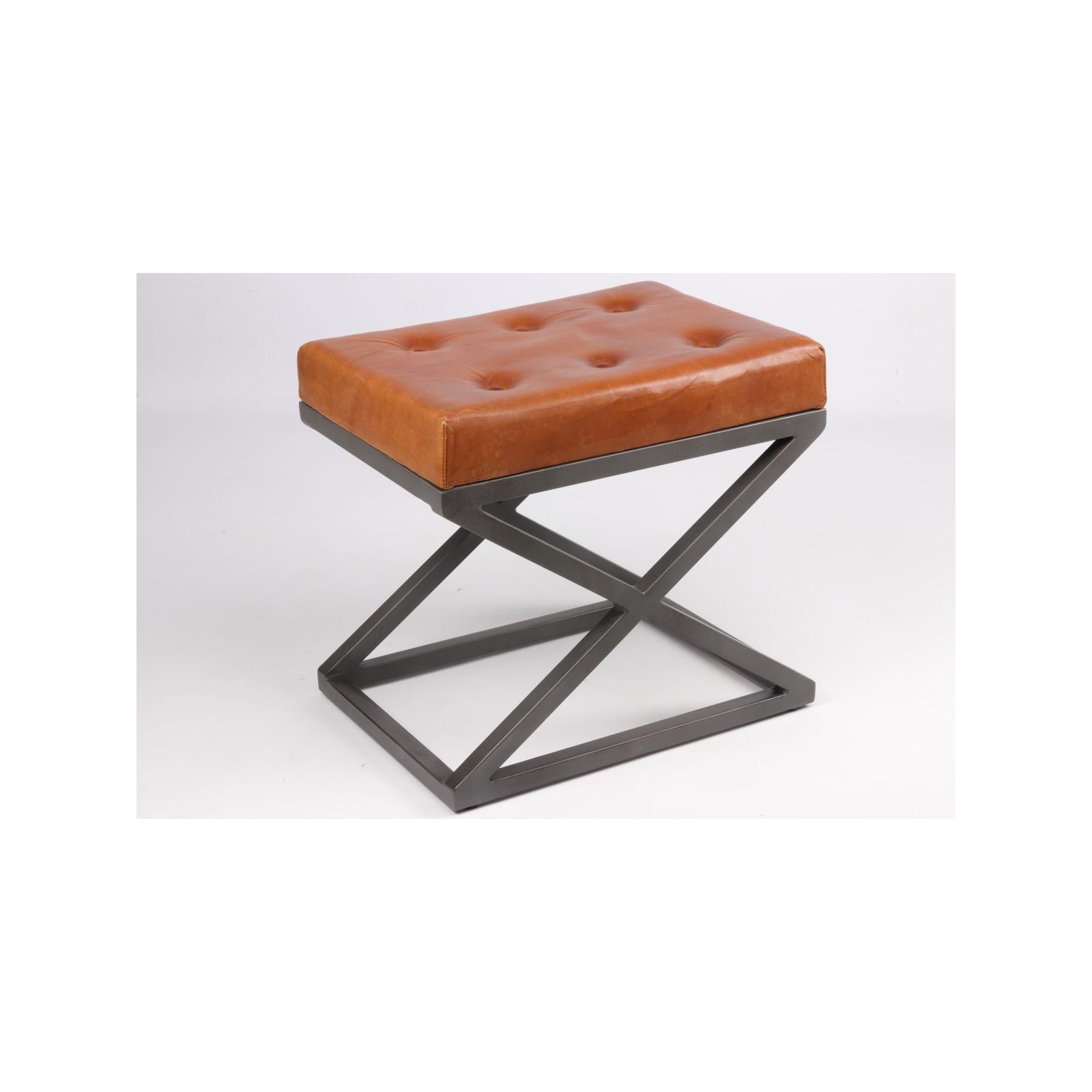 pouf industriel jp2b d coration. Black Bedroom Furniture Sets. Home Design Ideas