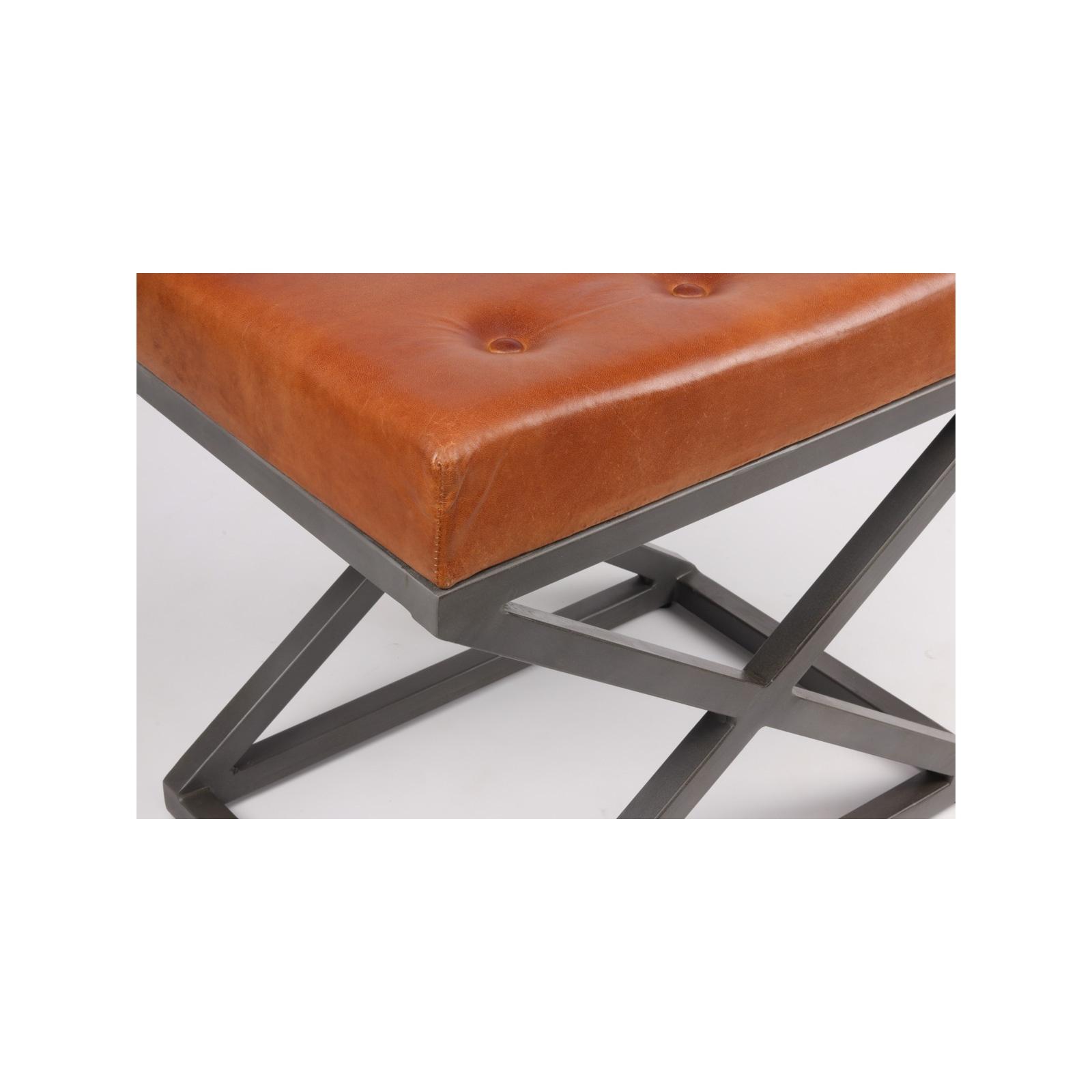 pouf industriel in60. Black Bedroom Furniture Sets. Home Design Ideas