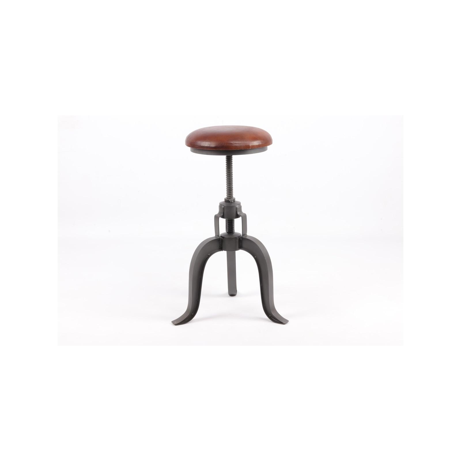 tabouret industriel in58. Black Bedroom Furniture Sets. Home Design Ideas