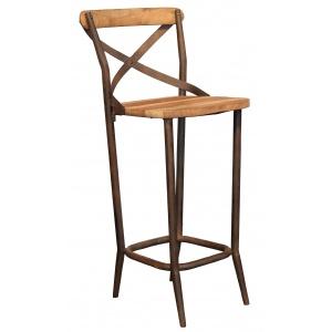 Chaise de bar indus