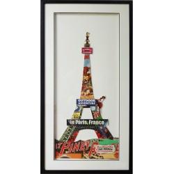 Tableau de la Tours Eiffel