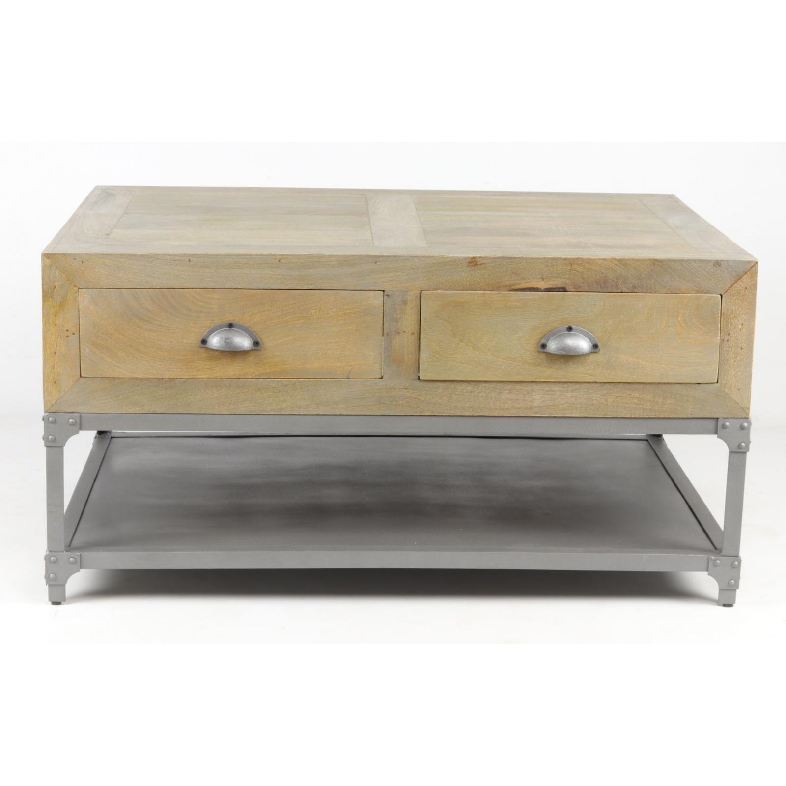 petite table basse industrielle. Black Bedroom Furniture Sets. Home Design Ideas