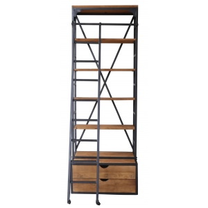 etagere industrielle chelle in18. Black Bedroom Furniture Sets. Home Design Ideas