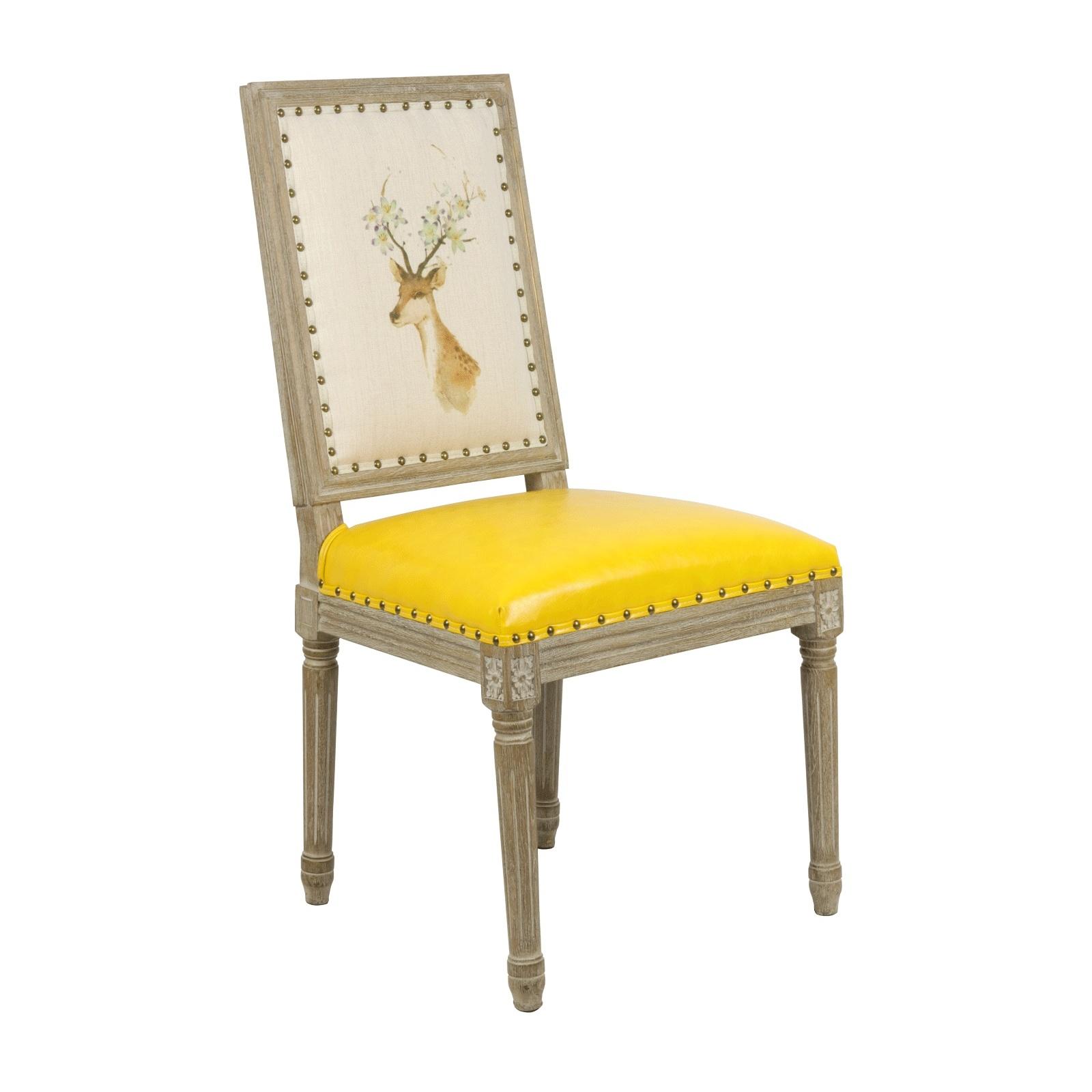 Chaise de table Biche