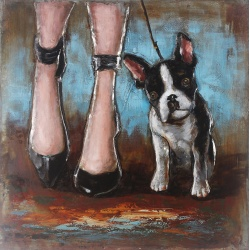 Tableau Bulldog Francais