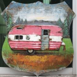 Ecusson caravane