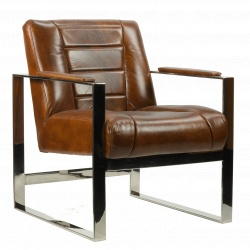 fauteuil Oregon Chrome