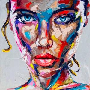 Portrait pop Femme