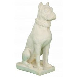 Statue chien boxer
