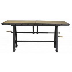 Pied de table à manivelle Métal