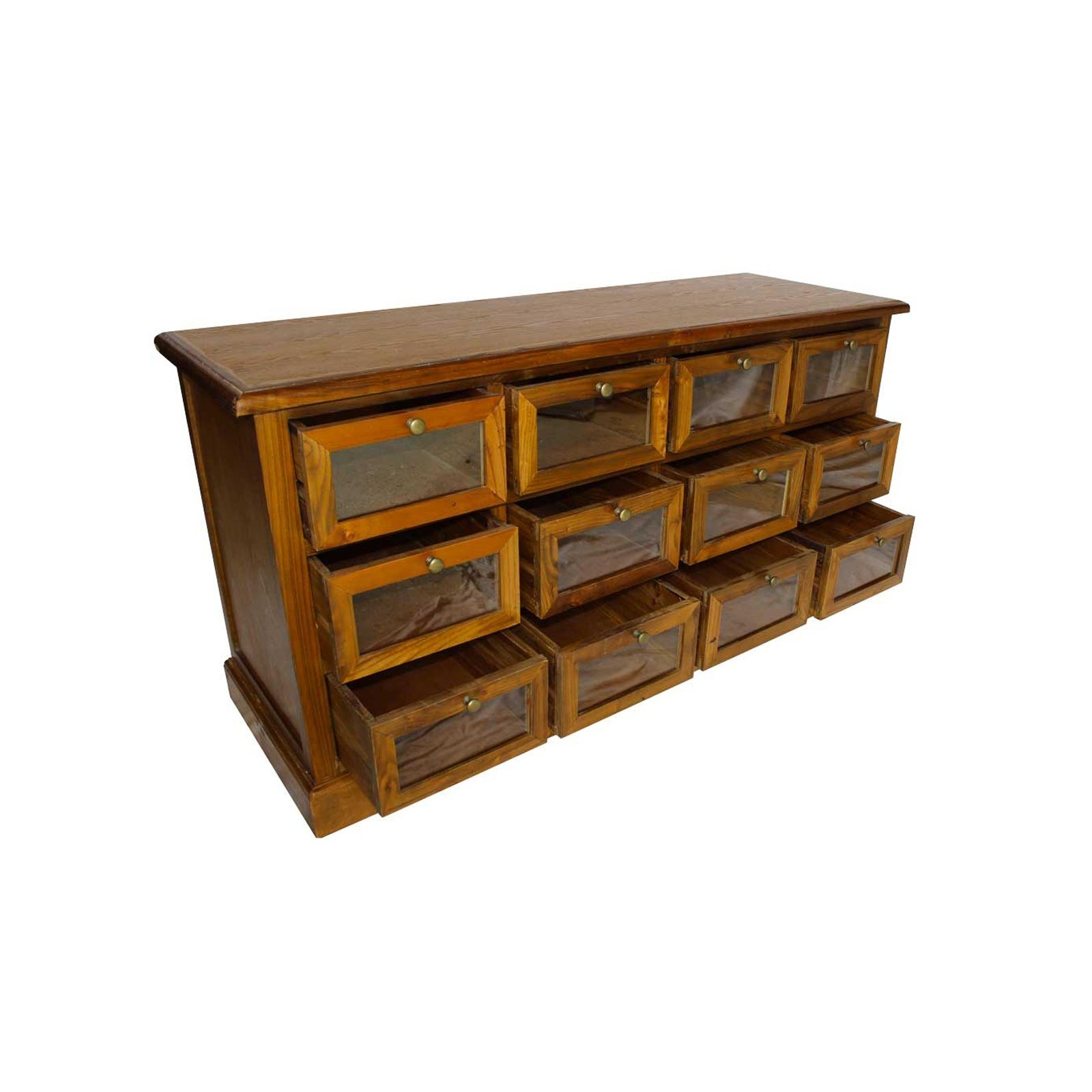 chiffonnier vitr jp2b d coration. Black Bedroom Furniture Sets. Home Design Ideas