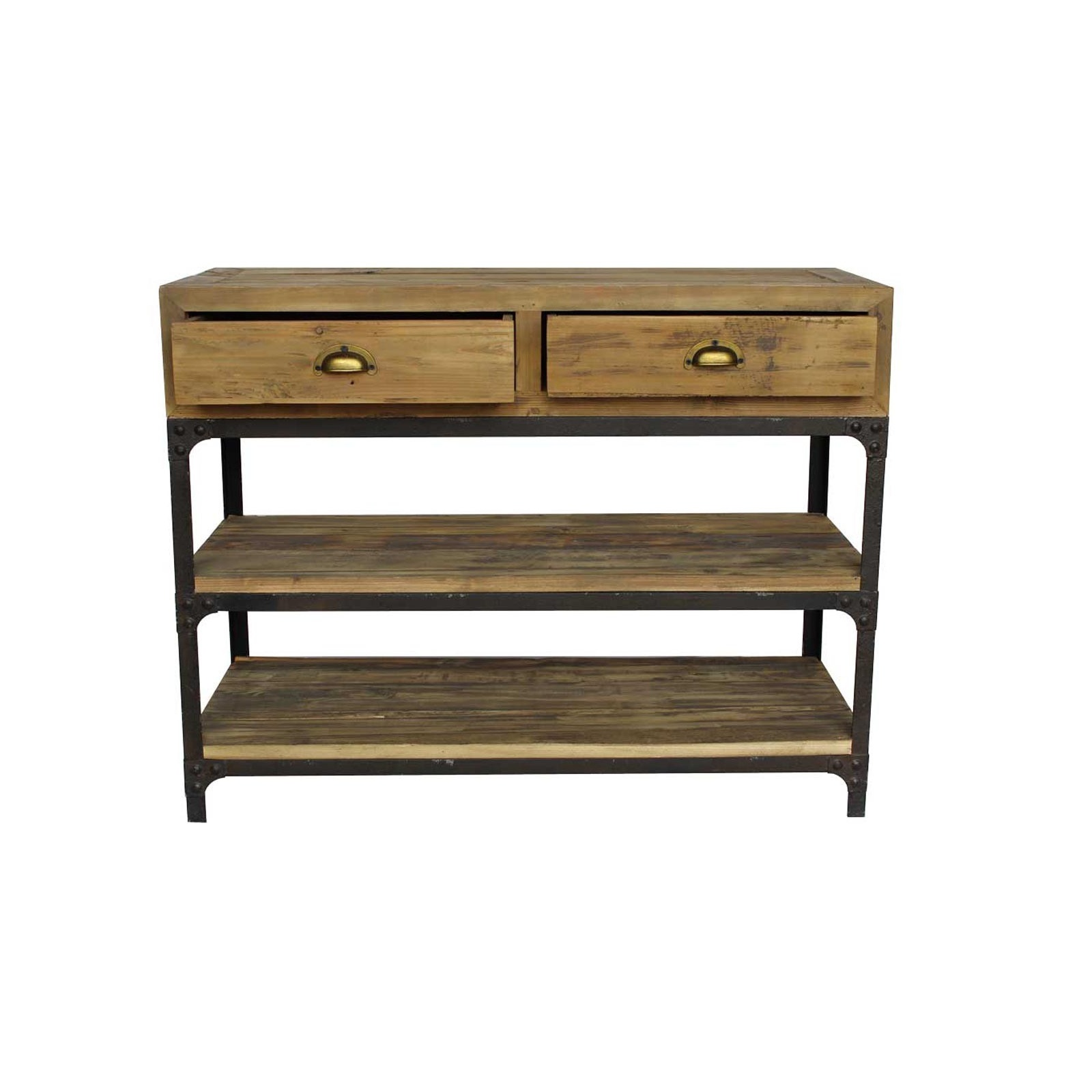 petite console industrielle jp2b d coration. Black Bedroom Furniture Sets. Home Design Ideas