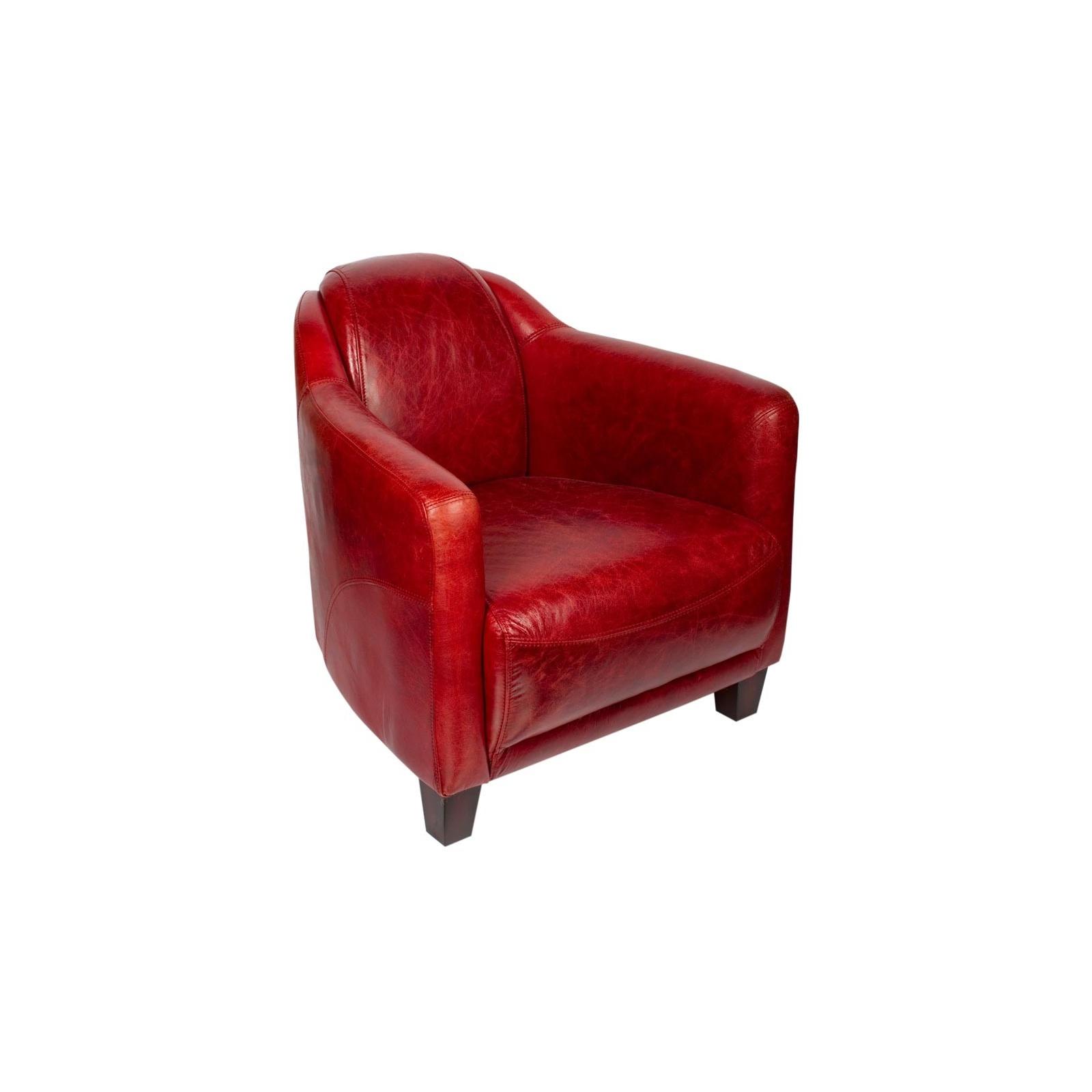 le fauteuil gentleman rouge jp2b d coration. Black Bedroom Furniture Sets. Home Design Ideas